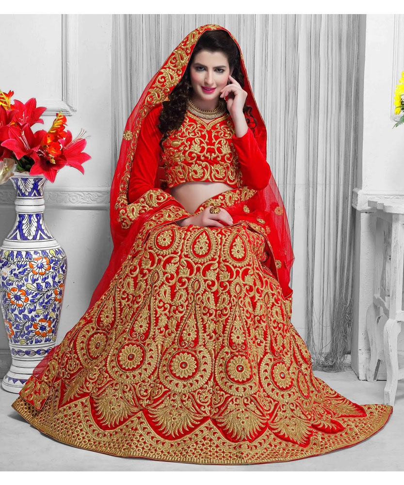Why Most Of The Indian Brides Wear Red Lehenga For Wedding?