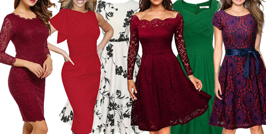6 Pretty dresses for Valentine's Day 2017 under $40