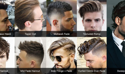 Hair trends for men in 2017